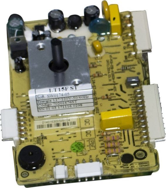 Placa Potência Lavadora Electrolux Lt15f 70201676