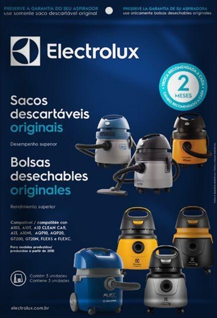 Saco Aspirador Electrolux Flex A10s Gr200